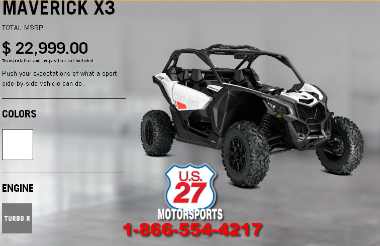 2017 Can Am Maverick X3 154 Hp