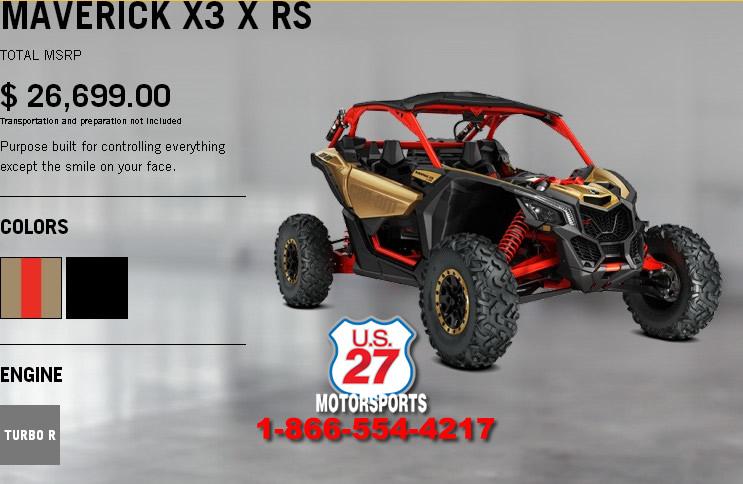 2017 Can Am Maverick X3 154 Hp